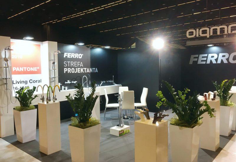 nowoczesne tanie stoiska targowe - Ferro - 4DD Katowice 2019